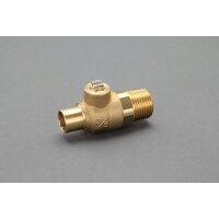 """エスコ  ボールバルブ(真鍮) 15.88mm×R1/2"""" EA470GS-5"""