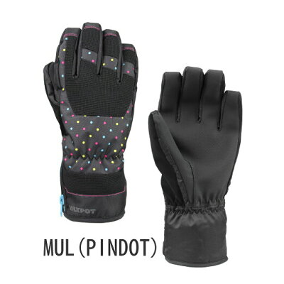 VAXPOT(バックスポット) グローブ スノーボード スキー  VA-3956 MUL(PINDOT)