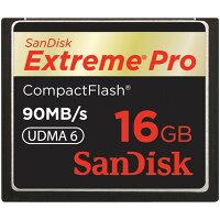 SANDISK CFカード Extreme Pro 16GB(90MB/s)