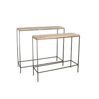 JOSEPH IRON CONSOLE TABLE 2pcsSET ジョセフ アイアン コンソール テーブル 2サイズ SPICE スパイス DTFF6289