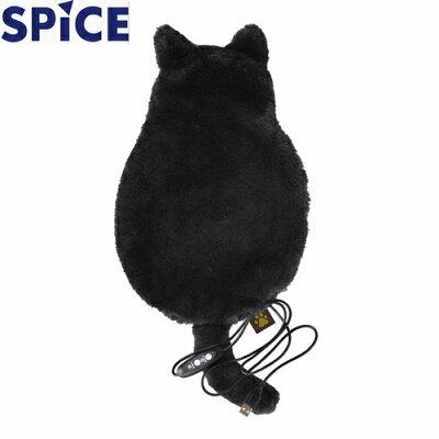 スパイス SPICE ひざ掛け USB あったか ブランケット Lサイズ ブラック CRLH2813BK