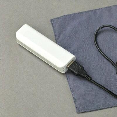 スパイス SPICE ひざ掛け USB あったか ブランケット Sサイズ ブラック CRLH2811BK