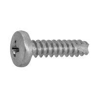 鉄 ステンめっき + バインドタッピング 2種B1形 M2.6 × 4