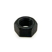 鉄/三価ブラック 六角ナット 1種 細目 M15 ピッチ=1.0