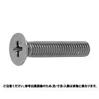 鉄/亜鉛メッキ+ZECCOAT + サラ小ねじ 全ねじ M3 × 23