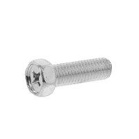 鉄/三価ホワイト+ZECCOAT 小形 + 六角アプセットM8×20