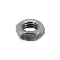 鉄/三価ブラック+ZECCOAT 六角ナット 3種 左ねじ M5