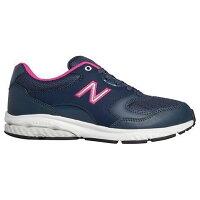 NewBalance/ニューバランス WW505ZNP2E レディース ウォーキングシューズ ネイビー/ピンク