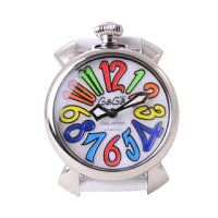 GaGa MILANO ガガミラノ 男女兼用 腕時計 マヌアーレ MANUALE 40MM ACCIAIO 5020.1 WH