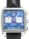 TAGHeuer メンズ腕時計 モナコ クロノグラフ キャリバー12 レザーベルト CAW2111FC6183