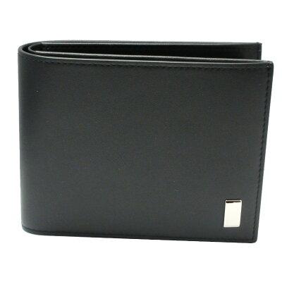 ダンヒル 財布 サイドカー ブラック 二つ折り財布 QD3070A