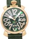 GaGaMILANO ガガミラノ メンズ 腕時計 マヌアーレ 48MM PLACCATO ORO GG-5011.4
