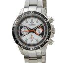 Technos  メンズ 腕時計 クロノグラフ タキメーター ホワイト T4377SW