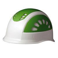 ミドリ安全 SC17BVRAKPWGN ABS製ヘルメット 通気孔付