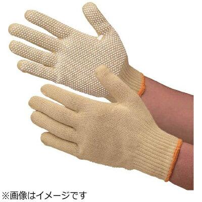 ミドリ安全 YELLOWGUARD102V 7186 アラミド繊維手袋 イエローガード 薄手 すべり止め付 YELLOWGUARD102V7186