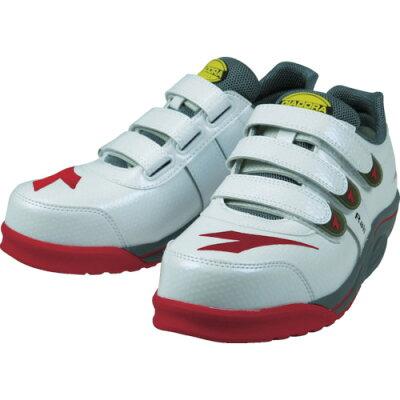 安全靴 スニーカー ディアドラRAIL作業靴 DIADORA レイル ローカット マジック JSAA規格B種