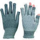 ミドリ安全 指先が使える手袋 スライドタッチeks 調温・消臭効果 グレー M STCH-EKS-GY-M