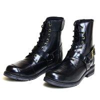メーカー品番:WWM-0001 WILD WING ワイルドウイング ライディングブーツ ファルコン ブラック 22.5cm レディース