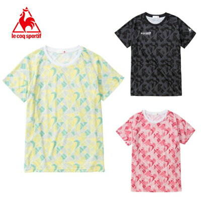 le coq sportif Tシャツ 半袖 レディース ハンソデシャツ QMWMJA01