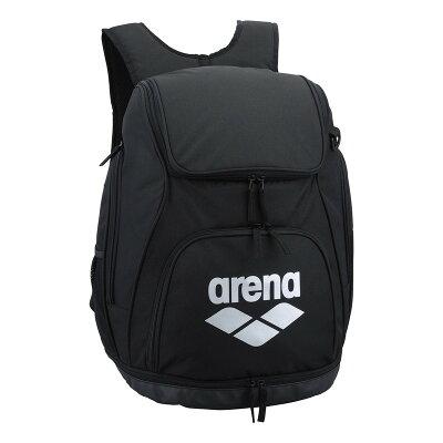 アリーナ arena スイム リュック ブラック×シルバー AEANJA01 BKSV