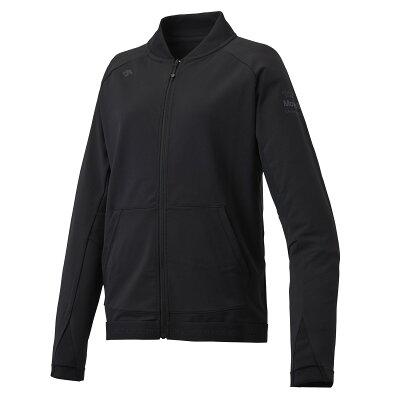 デサント サンスクリーン トレーニングジャケット レディース DMWNJF13A-BK