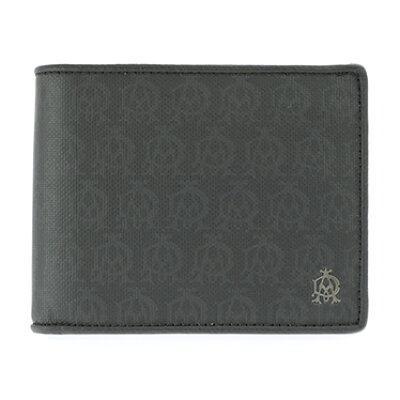 ダンヒル メンズ二つ折り財布 DH-L2PA32A ブラック