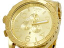 NIXON A083502 THE 51-30 CHRONO オールゴールド 腕時計
