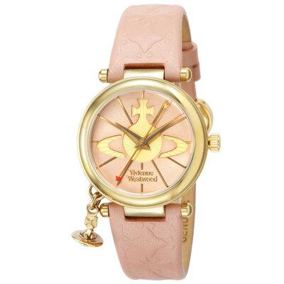 ヴィヴィアンウエストウッド 時計 腕時計 レディース VV006PKPK ゴールド/ピンク Vivienne Westwood