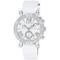 ティファニー 時計 腕時計 レディース Z1301.32.11A20A71A ホワイト クロノグラフ アトラス TIFFANY