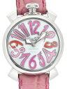 ガガミラノ GAGA MILANO MANUALE40MM 〔ホワイトパール ユニセックス〕 5020.6-PIN-NEW 腕時計
