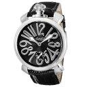 GAGA milanoガガミラノ 5010.04S-BLK-NEW MANUALE48MM 腕時計メンズ