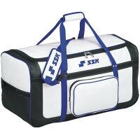 SSK ヘルメット兼キャッチャー用具ケース SSK-BH9960 ホワイト*Dブルー(1コ入)
