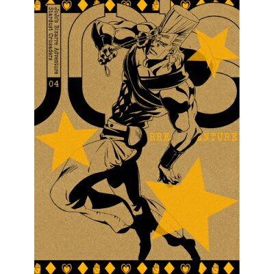 ジョジョの奇妙な冒険 スターダストクルセイダース Vol.4<初回生産限定版>/DVD/1000502213