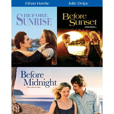 【初回仕様】ビフォア・サンライズ/サンセット/ミッドナイト ブルーレイ トリロジーBOX/Blu-ray Disc/1000695257