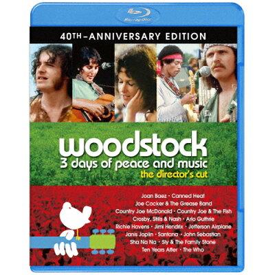 ディレクターズカット ウッドストック 愛と平和と音楽の3日間/Blu-ray Disc/1000743092