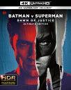 バットマン vs スーパーマン ジャスティスの誕生 アルティメット・エディション アップグレード版<4K ULTRA HD&ブルーレイセット>/Ultra HD Blu−ray/1000802746