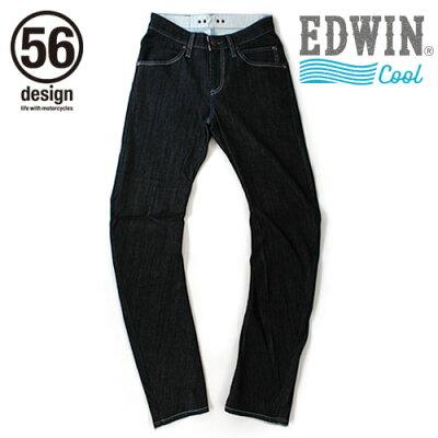 56design 56デザイン デニムパンツ・ジーンズ 56design×EDWIN 056 Rider Jeans COOL MESH ライダージーンズ クールメッシュ サイズ:M
