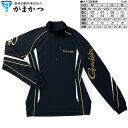 がまかつ コカゲマックス R ジップシャツ GM-3471 ブラック Mサイズ