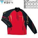 がまかつ コカゲマックス R ジップシャツ GM-3471 レッド / Mサイズ