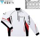 がまかつ コカゲマックス R ジップシャツ GM-3471 ホワイト / Mサイズ