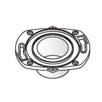 Panasonic エコソリューションズ アラウーノ部材 リフォーム用既設床フランジ CH120FR01