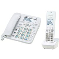 Panasonic 電話機 VE-GD32DL-W