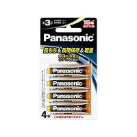 パナソニック FR6HJ/4B リチウム乾電池 単3形 4個ブリスターパック