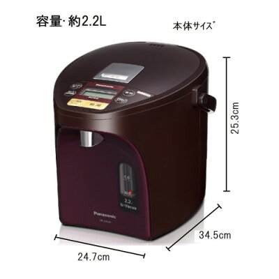 Panasonic 電気ポット NC-SU224-T