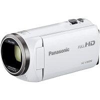 Panasonic ビデオカメラ HC-V360M-W