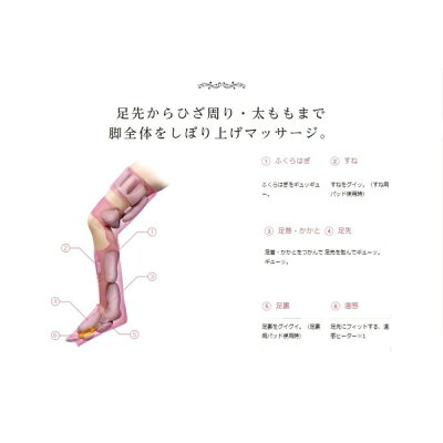 パナソニック エアーマッサージャー レッグリフレ ピンク EW-RA96-P(1台)