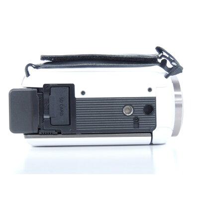 Panasonic デジタルハイビジョン ビデオカメラ HC-V480MS-W