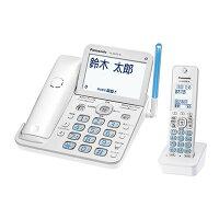 Panasonic  コードレス電話機 RU・RU・RU VE-GD76DL-W