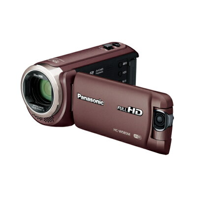 Panasonic  デジタルハイビジョンビデオカメラ HC-W585M-T