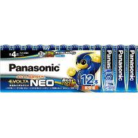パナソニック アルカリ乾電池 EVOLTA NEO(エボルタネオ) 単4形 12本パック LR03NJ/12SW